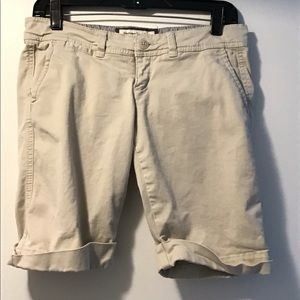 Abercrombie & Fitch Stretch Shorts Size 0